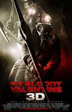 My Bloody Valentine 3D movie poster