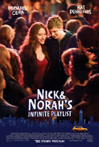Nick and Norah's Infinite Playlist movie poster