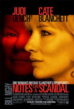 Notes on a Scandal movie poster