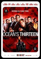 Ocean's 13 movie poster