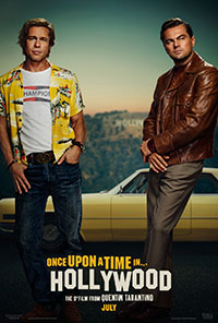 Once Upon a Time... in Hollywood movie poster