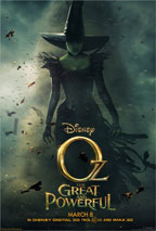 Oz, the Great and Powerful movie poster