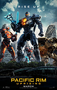 Pacific Rim Uprising movie poster