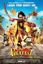 Pirates! Band of Misfits movie poster
