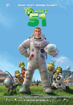 Planet 51 movie poster