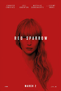 Red Sparrow movie poster