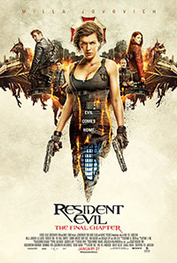 Resident Evil: The Final Chapter preview