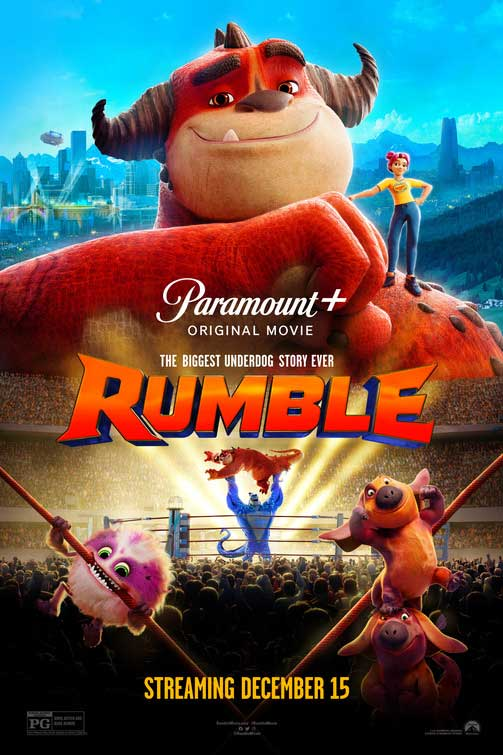 Rumble movie poster