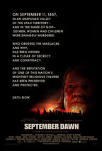 September Dawn movie poster