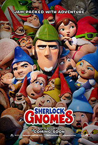 Sherlock Gnomes movie poster