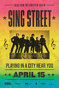 Sing Street movie poster