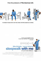 Sleepwalk with Me movie poster