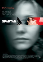 Spartan movie poster