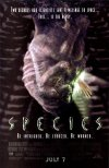 Species movie poster