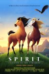 Spirit: Stallion of the Cimarron movie poster