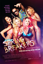 Spring Breakers movie poster