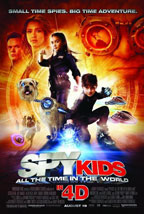 Spy Kids 4: All the Time in the World movie poster