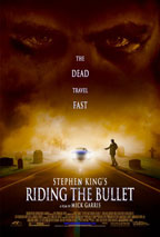 Stephen King's Riding the Bullet movie poster