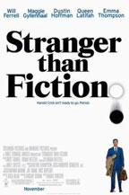 Stranger Than Fiction movie poster