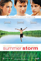 Summer Storm movie poster