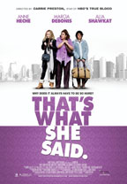 That's What She Said preview