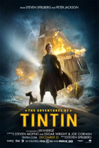 The Adventures of Tintin: Secret of the Unicorn movie poster