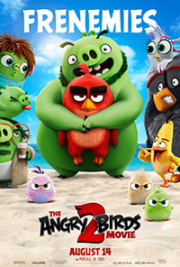 The Angry Birds 2 Movie movie poster
