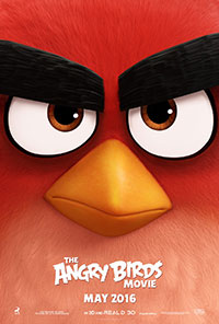 The Angry Birds Movie movie poster