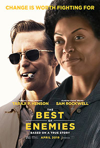 The Best of Enemies movie poster