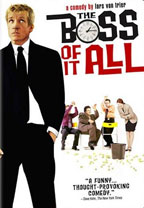 The Boss of It All movie poster