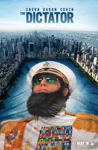 The Dictator movie poster