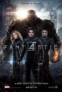 The Fantastic Four movie poster