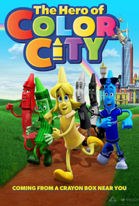 The Hero of Color City movie poster