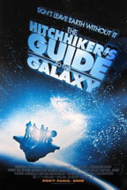 The Hitchhiker's Guide to the Galaxy movie poster