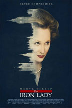 The Iron Lady movie poster