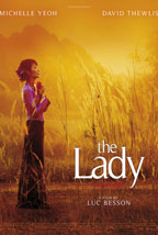 The Lady movie poster