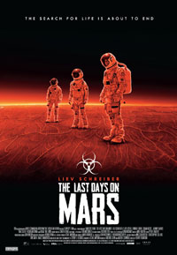 The Last Days on Mars movie poster