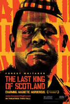 The Last King of Scotland movie poster