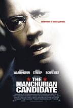 The Manchurian Candidate movie poster