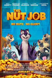 The Nut Job 3D movie poster