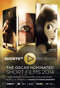 The Oscar-Nominated Short Films 2014 preview