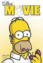 The Simpsons Movie movie poster