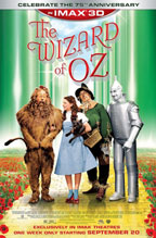 The Wizard of Oz IMAX 3D movie poster