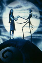 Tim Burton's The Nightmare Before Christmas 3D movie poster