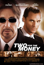 Two for the Money preview