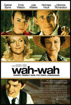 Wah-Wah movie poster