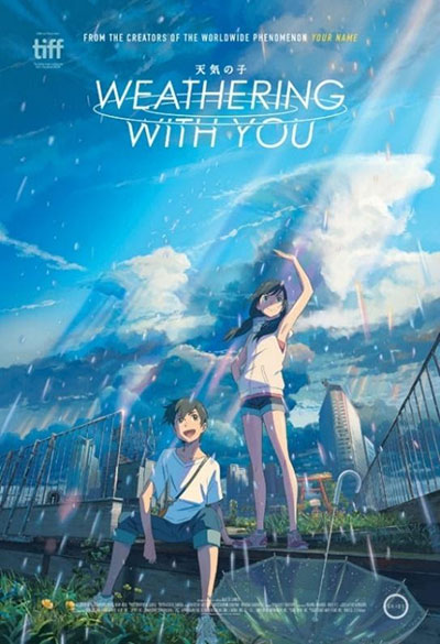 Weathering with You movie poster