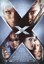 X2: X-Men United movie poster