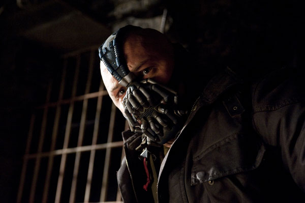 Bane looks scared