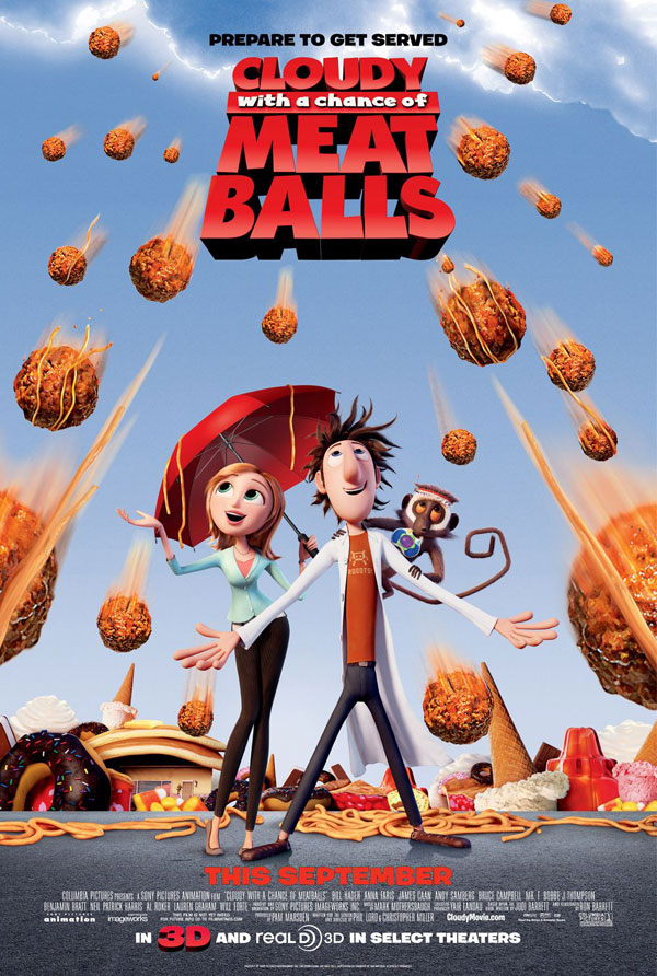 Cloudy with a Chance of Meatballs Image 2